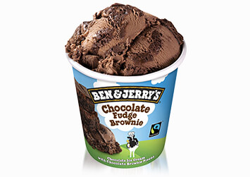 Produktbild Ben & Jerry's Chocolate Fudge Brownie