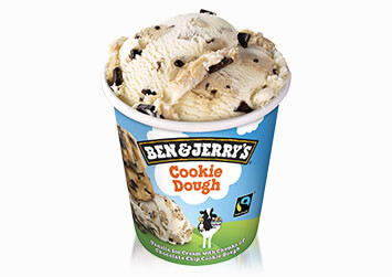 Produktbild Ben & Jerry's Cookie Dough