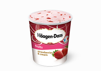 Produktbild Häagen-Dazs Strawberries & Cream
